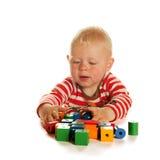 Playing little boy Stock Photo