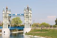 Playing London Bridge Stock Photography