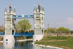 Playing London Bridge Royalty Free Stock Images