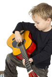 Playing music Royalty Free Stock Images