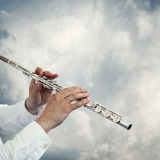 Playing music background Stock Photography