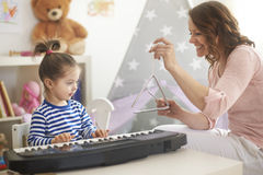 Playing music together Stock Images