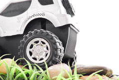 Playing Off-Roading Stock Image