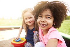 Free Playing On The Playground Royalty Free Stock Photography - 93947437