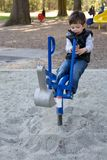 Playing in the park Stock Photo