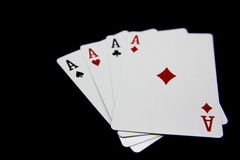 Free Playing Poker Royalty Free Stock Photography - 37905887