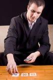playing poker Στοκ Εικόνα