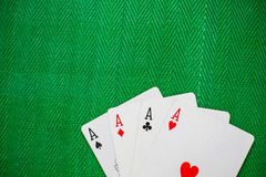 Playing poker card Royalty Free Stock Photography