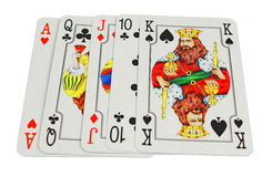 Playing Poker Cards Stock Photo