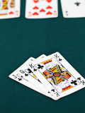 Playing poker concept Stock Photo