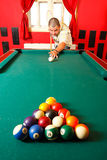 Playing pool Royalty Free Stock Photography