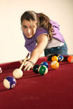 Playing pool Stock Photos