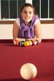 Playing pool Stock Photography
