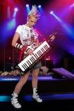 playing rocker Στοκ Φωτογραφία