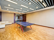 Playing room for table tennis Royalty Free Stock Photos