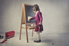 Playing school Stock Images