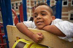 Playing At School Royalty Free Stock Image