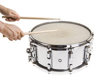 Playing Snare Drums Royalty Free Stock Images