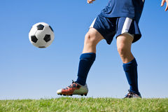 Playing Soccer Stock Images