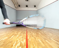 Playing Squash Royalty Free Stock Images
