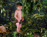Playing Tarzan Royalty Free Stock Photo