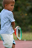 Playing tennis Royalty Free Stock Photos