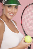 Playing tennis. Stock Images