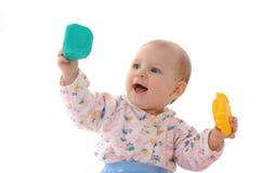 Playing toddler Royalty Free Stock Photos