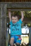 Playing toddler royalty free stock image