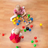 Playing toddlers Stock Photo