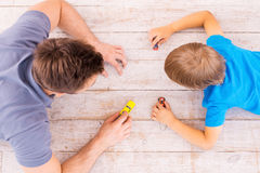 Playing together. Stock Photos