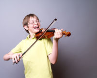 Playing the Violin Stock Photography