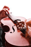 Playing Violin Royalty Free Stock Image