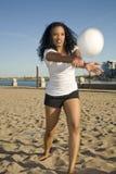 playing volleyball Στοκ φωτογραφία με δικαίωμα ελεύθερης χρήσης