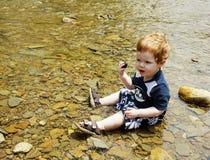 Playing Water Royalty Free Stock Photos