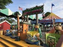 Playland park w życie, Nowy Jork Obrazy Royalty Free