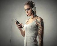 Playlist Στοκ φωτογραφίες με δικαίωμα ελεύθερης χρήσης