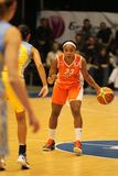 Playmaking Cappie Pondexter in euroleague Stock Photo