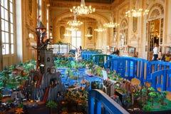 Playmobil博览会法国 库存照片