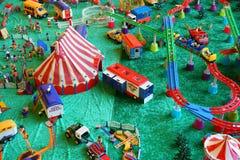 Playmobil马戏&游乐园汇集 免版税库存图片
