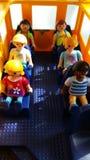 Playmobil display art royalty free stock photo