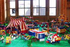 Playmobil Circus Royalty Free Stock Photos