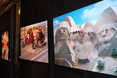 Playmobil-Plakat-Kunst Lizenzfreie Stockfotografie