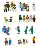 Playmobil toys Stock Photo