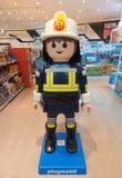 Playmobilstuk speelgoed bij opslag, Seoel Royalty-vrije Stock Afbeelding