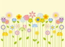 playnig света цветка предпосылки Стоковая Фотография RF