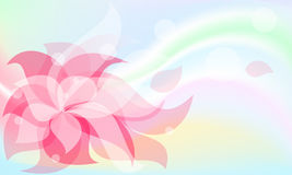 playnig света цветка предпосылки бесплатная иллюстрация