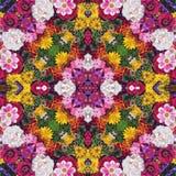 Playnig mit Leuchte Effekt eines Kaleidoskops stockbild