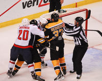 Playoff Hockey. Stock Image