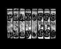 Playoffs concept. Ice hockey playoff or playoffs concept Royalty Free Stock Photography